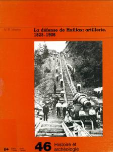 La défense de Halifax: artillerie, 1825-1906
