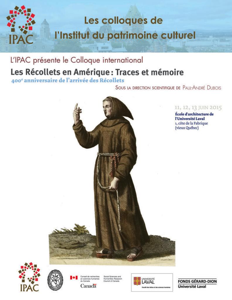 Recollets Colloque
